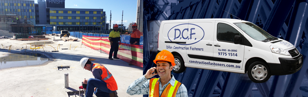 Construction Fasteners Delivered On Site