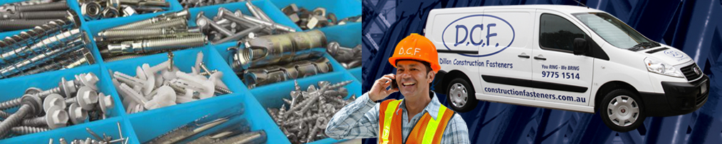 Construction fasteners in Melbourne from wide range of reliable suppliers